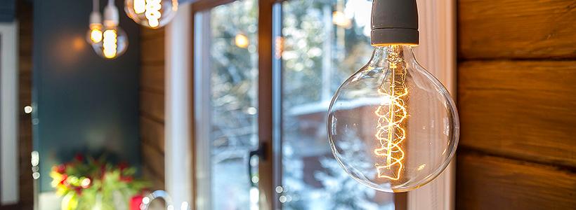 Лофтовая роскошь: обзор лаконичных идей с ретро-лампами Эдисона в интерьере