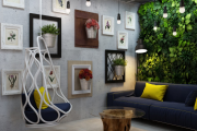 Фото 15 Лофтовая роскошь: обзор лаконичных идей с ретро-лампами Эдисона в интерьере