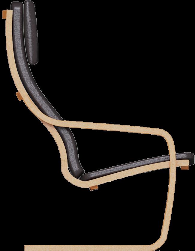 Уникальная конструкция и эргономика кресла