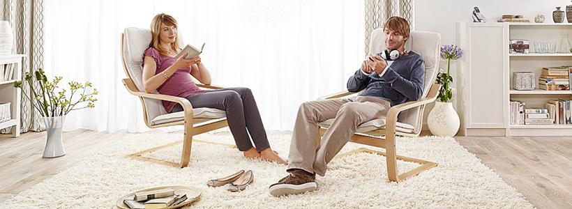 Ваш личный домашний ортопед: 60+ комфортных идей с креслом поэнг в интерьере