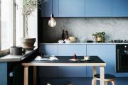 Фото 1 В ограниченных условиях: дизайнерские лайфхаки, идеи и советы для продуманного интерьера кухни 10 кв. м