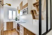 Фото 7 В ограниченных условиях: дизайнерские лайфхаки, идеи и советы для продуманного интерьера кухни 10 кв. м