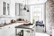 Фото 14 В ограниченных условиях: дизайнерские лайфхаки, идеи и советы для продуманного интерьера кухни 10 кв. м