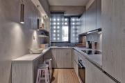 Фото 19 В ограниченных условиях: дизайнерские лайфхаки, идеи и советы для продуманного интерьера кухни 10 кв. м