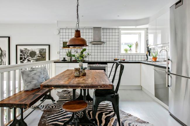 """""""Г""""-образное расположение мебели обеспечит удобство и комфорт в процессе готовки или приема пищи"""