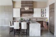 Фото 23 В ограниченных условиях: дизайнерские лайфхаки, идеи и советы для продуманного интерьера кухни 10 кв. м