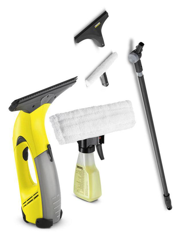 Комплектация аппарата для уборки домашних окон