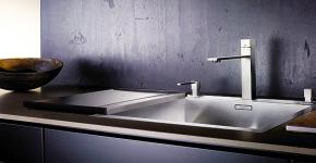 Кухонные мойки Blanco (55+ фото): сравнение материалов, отзывы и обзор моделей 2019 года фото