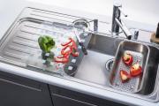 Фото 6 Кухонные мойки Blanco: сравнение материалов, отзывы и обзор популярных модельных линеек
