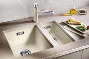 Фото 8 Кухонные мойки Blanco: сравнение материалов, отзывы и обзор популярных модельных линеек