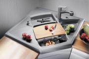 Фото 3 Кухонные мойки Blanco: сравнение материалов, отзывы и обзор популярных модельных линеек