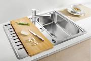 Фото 11 Кухонные мойки Blanco: сравнение материалов, отзывы и обзор популярных модельных линеек