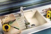 Фото 12 Кухонные мойки Blanco: сравнение материалов, отзывы и обзор популярных модельных линеек