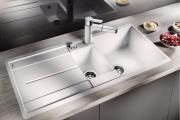 Фото 15 Кухонные мойки Blanco: сравнение материалов, отзывы и обзор популярных модельных линеек