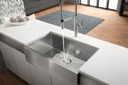 Фото 23 Кухонные мойки Blanco: сравнение материалов, отзывы и обзор популярных модельных линеек