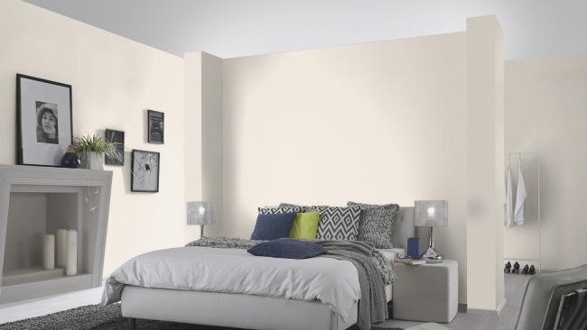 Светлые тона расширяют границы спальной зоны