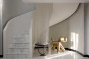 Фото 7 Отделка лестницы в частном доме: 60+ роскошных идей декора, покрытий и облицовки