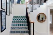 Фото 11 Отделка лестницы в частном доме: 60+ роскошных идей декора, покрытий и облицовки