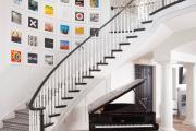 Фото 12 Отделка лестницы в частном доме: 60+ роскошных идей декора, покрытий и облицовки
