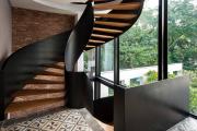 Фото 4 Отделка лестницы в частном доме: 60+ роскошных идей декора, покрытий и облицовки