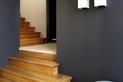 Фото 17 Отделка лестницы в частном доме: 60+ роскошных идей декора, покрытий и облицовки