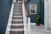 Фото 22 Отделка лестницы в частном доме: 60+ роскошных идей декора, покрытий и облицовки