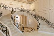 Фото 24 Отделка лестницы в частном доме: 60+ роскошных идей декора, покрытий и облицовки