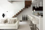 Фото 25 Отделка лестницы в частном доме: 60+ роскошных идей декора, покрытий и облицовки