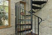 Фото 26 Отделка лестницы в частном доме: 60+ роскошных идей декора, покрытий и облицовки