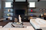 Фото 6 Подвесная полка под телевизор: обзор функциональных и комфортных вариантов для дома
