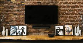 Подвесная полка под телевизор: обзор функциональных и комфортных вариантов для дома фото