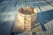 Фото 5 Разновидности купелей для бани: критерии правильного выбора и тонкости установки