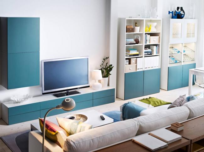 Проект гостиной от Ikea