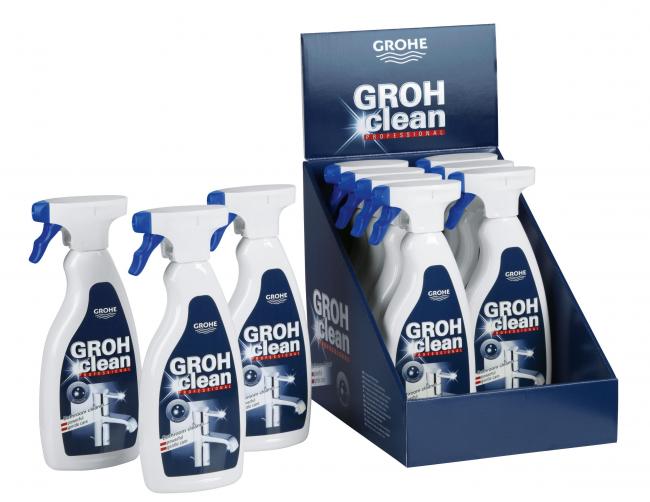 «GrohClean» поможет содержать ваш смеситель в чистоте