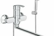 Фото 20 Функциональность превыше всего: обзор смесителей для ванны с душем Grohe