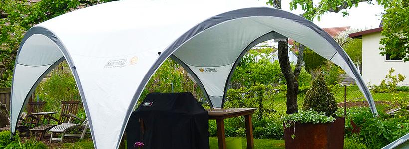 Альтернатива дорогостоящим беседкам: выбираем тент-шатер для дачи
