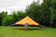 Фото 7 Альтернатива дорогостоящим беседкам: выбираем тент-шатер для дачи