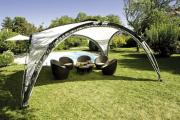 Фото 4 Альтернатива дорогостоящим беседкам: выбираем тент-шатер для дачи