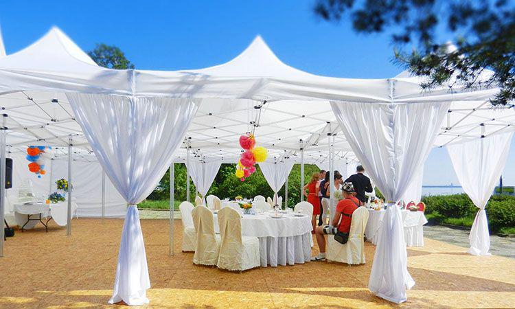 Тент-шатер для дачи: советы по выбору Идеи для дома