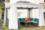 Фото 16 Альтернатива дорогостоящим беседкам: выбираем тент-шатер для дачи