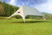 Фото 20 Альтернатива дорогостоящим беседкам: выбираем тент-шатер для дачи