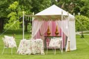 Фото 28 Альтернатива дорогостоящим беседкам: выбираем тент-шатер для дачи