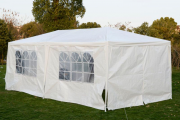 Фото 24 Альтернатива дорогостоящим беседкам: выбираем тент-шатер для дачи