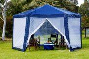 Фото 30 Альтернатива дорогостоящим беседкам: выбираем тент-шатер для дачи