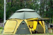 Фото 1 Альтернатива дорогостоящим беседкам: выбираем тент-шатер для дачи