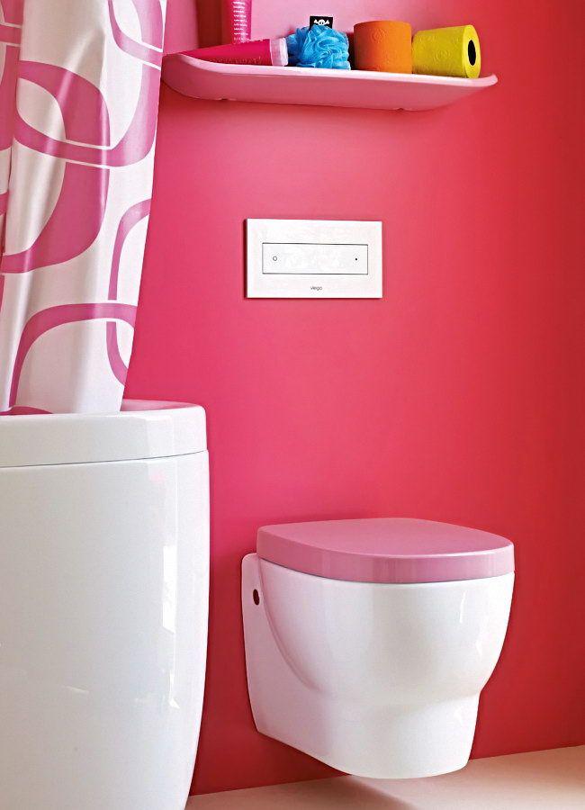 Экономия пространства и красивый эстетический вид поможет создать подвесная конструкция в ванной комнате