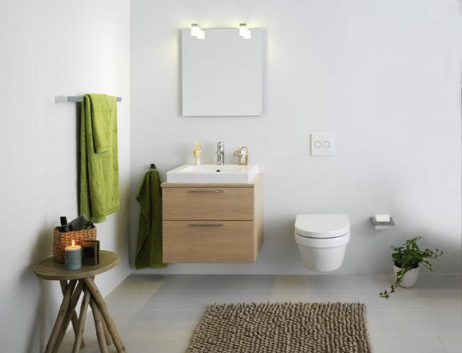 Финские изделия помогут создать стильный интерьер ванной комнаты