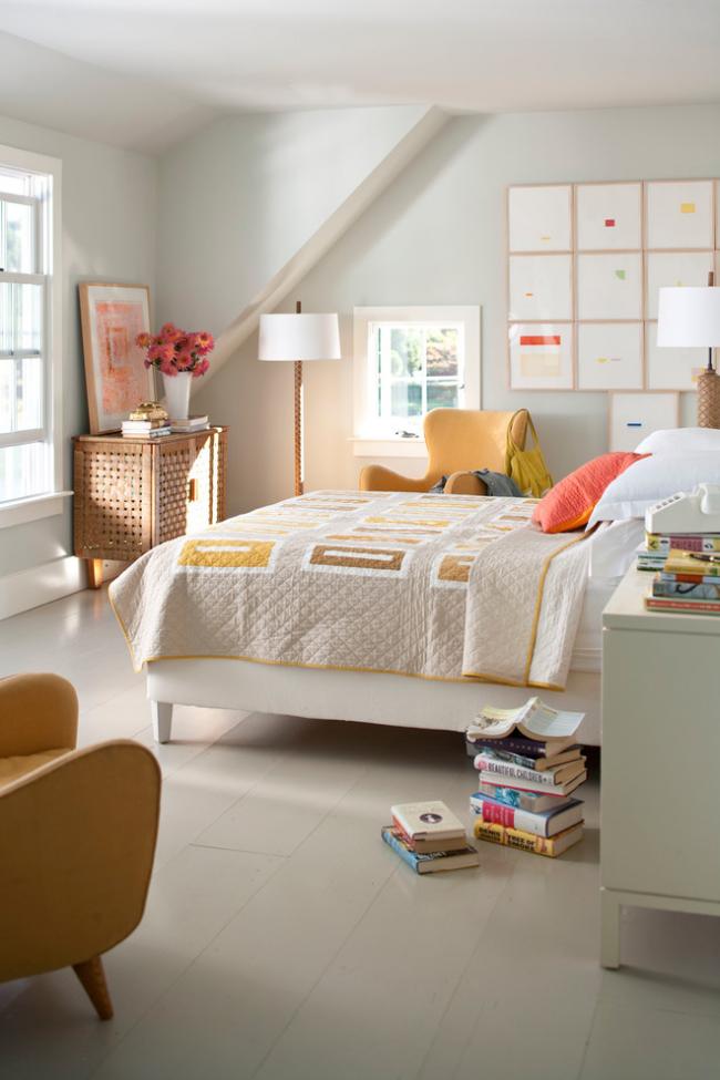 Интересное одеяло с добавлением верблюжьей шерсти для современной спальни