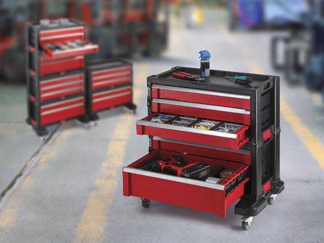 Организация хранения инструментов для гаражей и мастерских