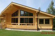 Фото 40 Проекты домов из бруса: комфорт для всей семьи и 95+ надежных и практичных реализаций